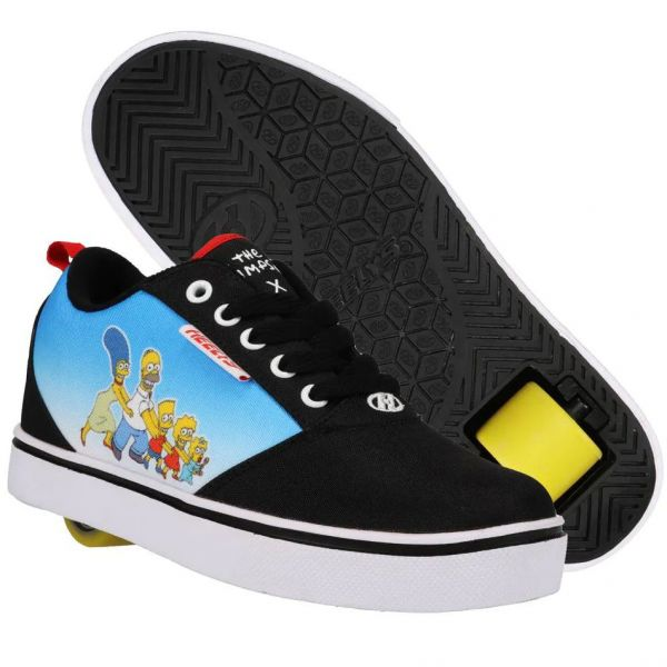 Heelys x Simpsons Pro 20 Prints - Black/Cyan/Multi