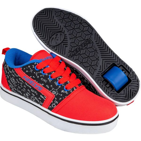 Heelys GR8 Pro Prints - Red/Black/Blue/Chemistry