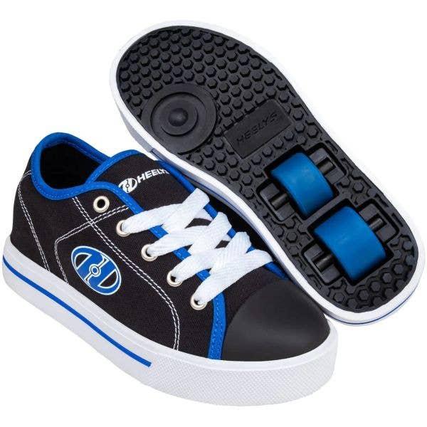Heelys X2 Classic - Black/White/Blue