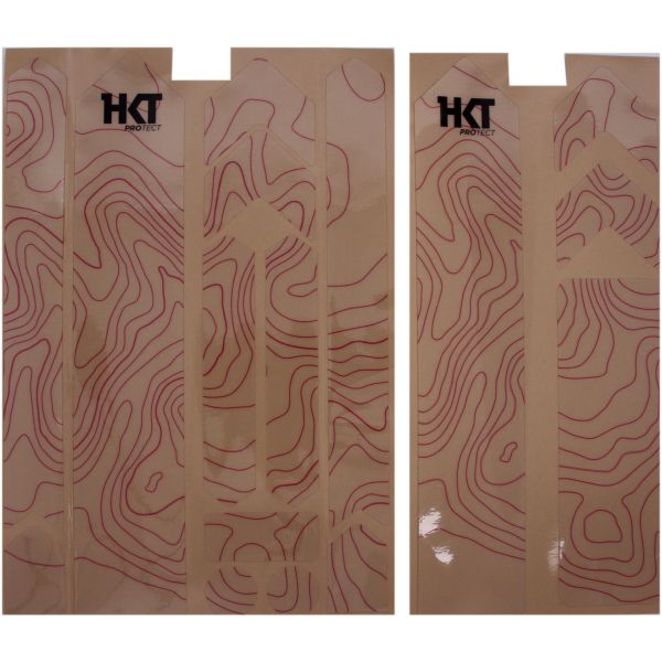 HKT XXL Contour Bike Protectors - Electric Pink