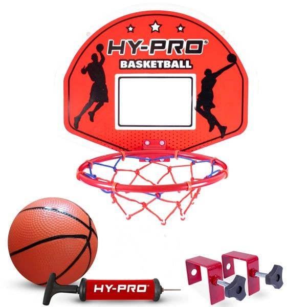 Hy-Pro Over The Door Basketball Hoop Set