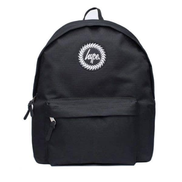 Hype Badge Backpack - Black