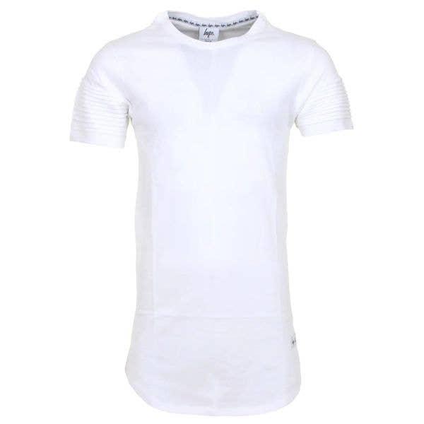 Hype Biker T Shirt - White