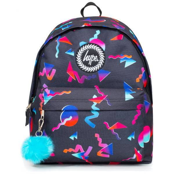 Hype Neon Shapes 18L Backpack - Multi