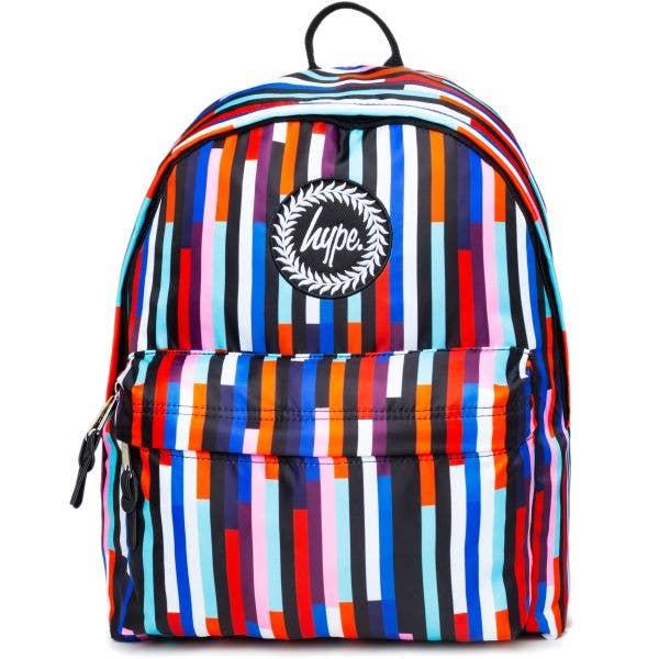 Hype Stripe 18L Backpack - Multi