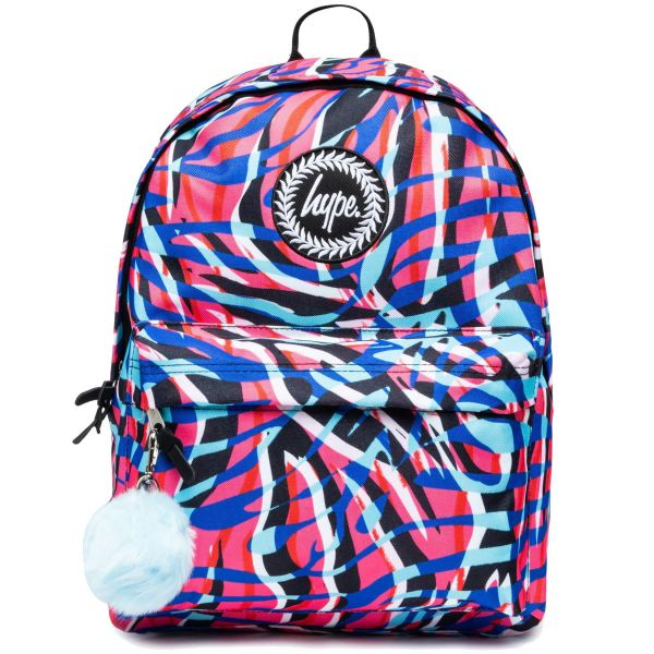 Hype Highlighter Zebra 18L Backpack - Multi