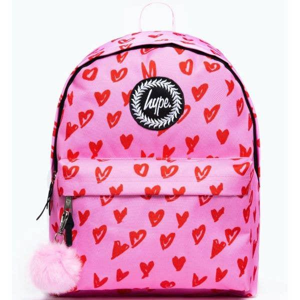 Hype Scribble Heart 18L Backpack - Multi