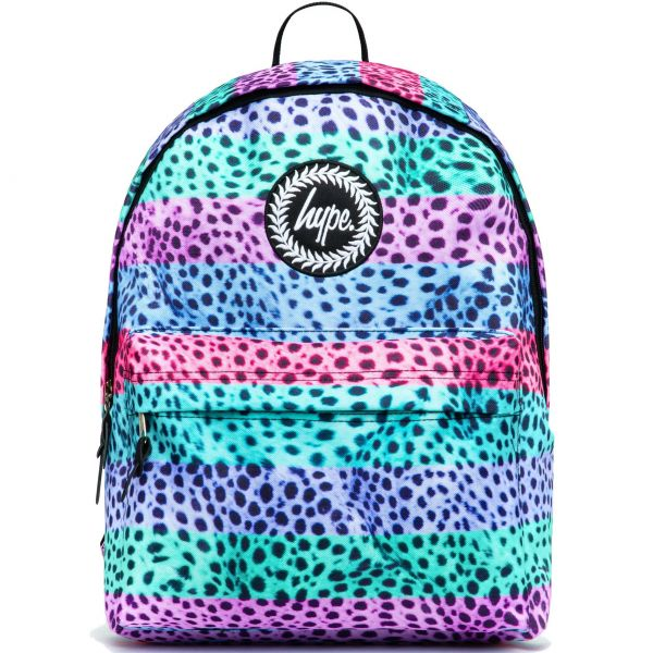 Hype Stripe Pastel Cheetah 18L Backpack - Multi