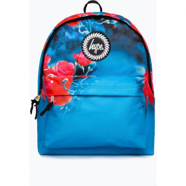 Hype Rose Sea 18L Backpack - Blue/Red
