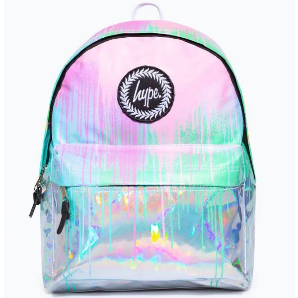 Hype Holo Drips 18L Backpack - Multi