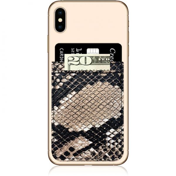 iDecoz Faux Leather Phone Pocket - Python
