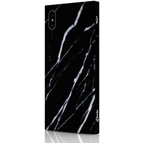 IDecoz Phone Case - Black Marble (iPhone 8/7)