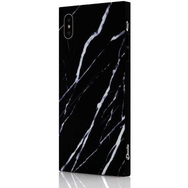 IDecoz Phone Case - Black Marble (iPhone X/XS)