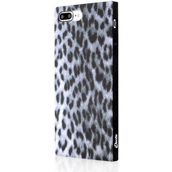 IDecoz Phone Case - Snow Leopard (iPhone 8 PLUS/7 PLUS)