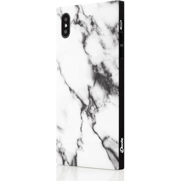 IDecoz Phone Case - White Marble (iPhone XR)