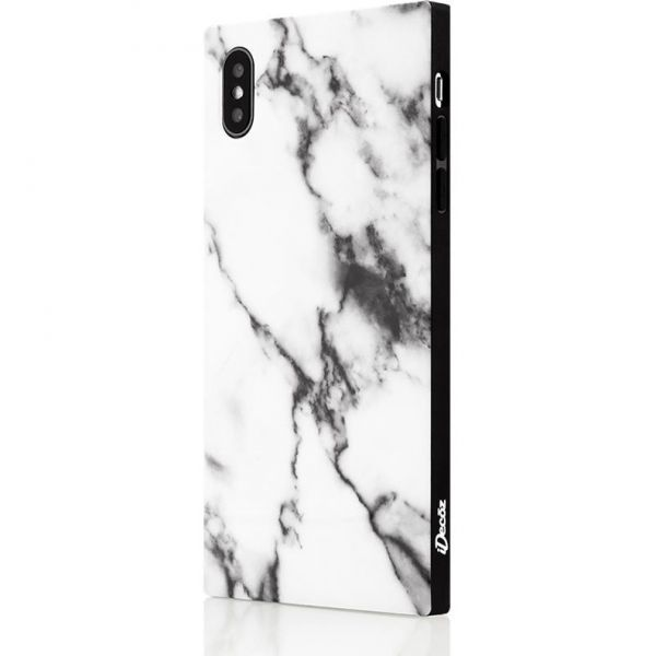 IDecoz Phone Case - White Marble (iPhone XS MAX)