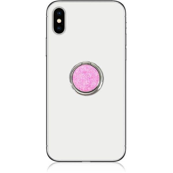 IDecoz Phone Ring - Pink Glitter
