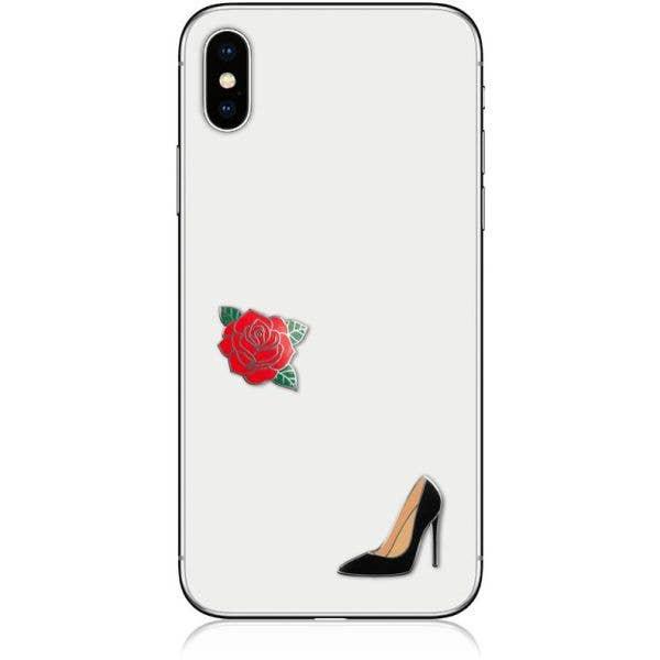 IDecoz Rose Phone Charms