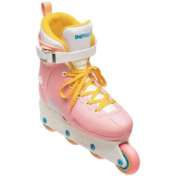 Impala Lightspeed Aggressive Skates - Pink/Yellow