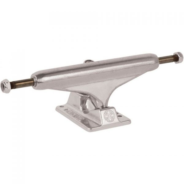 Independent Stage 11 Hollow Forged Skateboard Trucks - Silver - 144mm