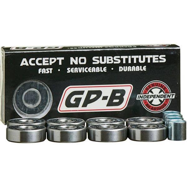 Independent Genuine Parts GP-B Skateboard Bearings - Black
