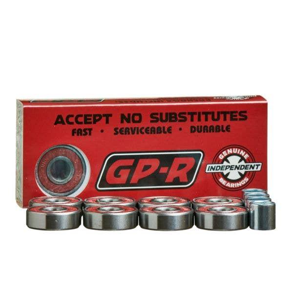 Independent Genuine Parts GP-R Skateboard Bearings - Red
