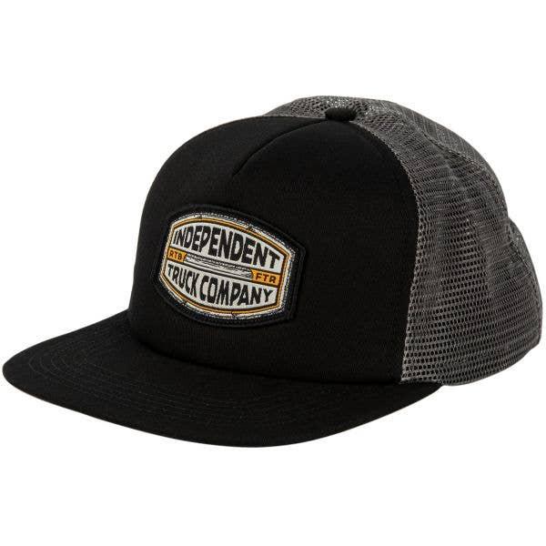 Independent ITC Curb Meshback Cap - Black/Grey