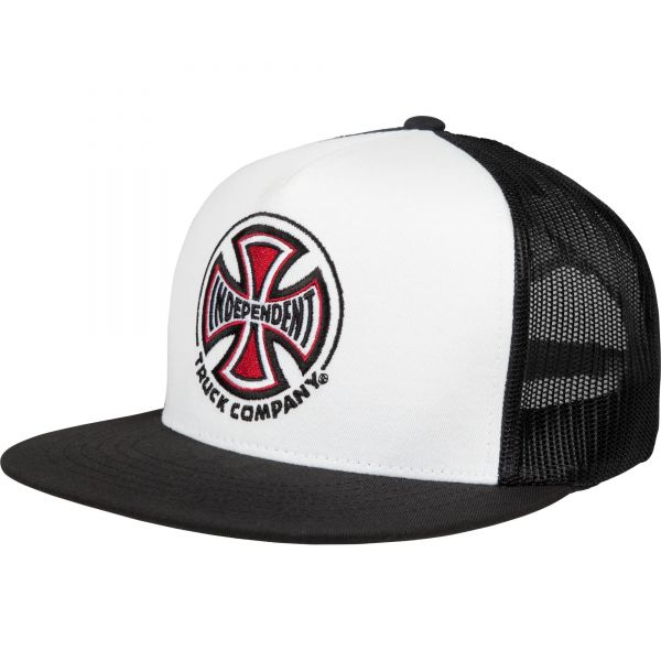 Independent Truck Co Mesh Cap - White/Black