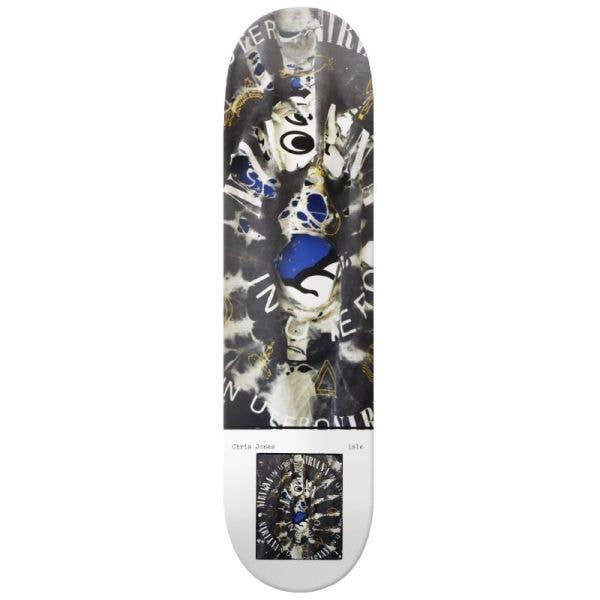 Isle Milo Brennan Artist Series Skateboard Deck - Chris Jones 8.25''