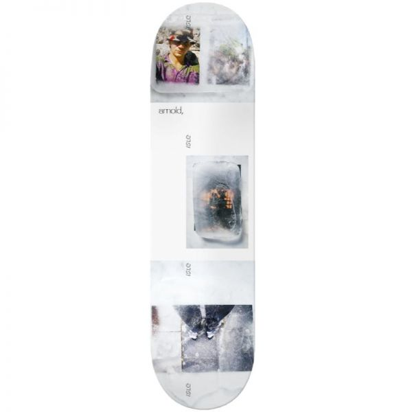 "Isle Freeze Mike Arnold Skateboard Deck - White 8.25"""