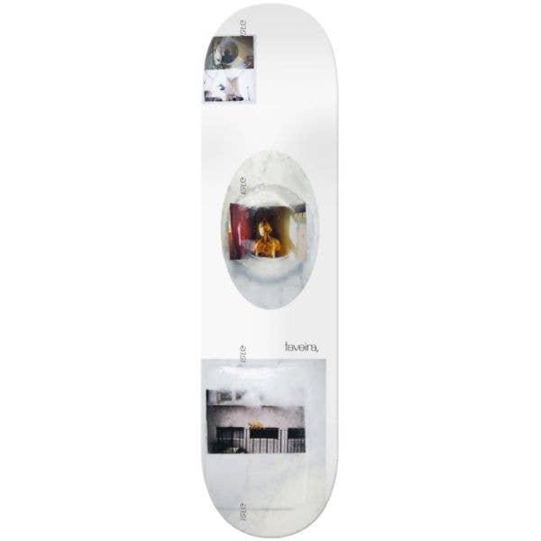 Isle Freeze Remy Taveria Skateboard Deck - White 8.375''