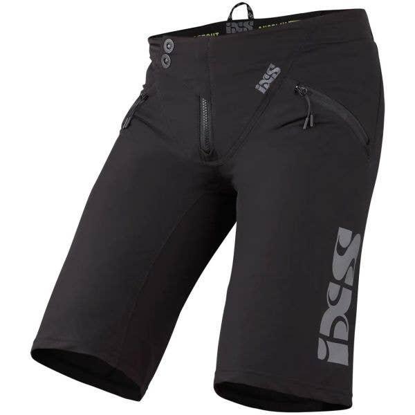 iXS Trigger Shorts - Black/Graphite
