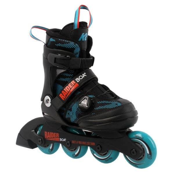 K2 Raider BOA Adjustable Inline Skates