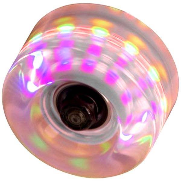 SFR LA Light Flashing 58mm Wheels Clear (4pk)