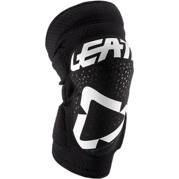 Leatt 3DF 5.0 Zip Knee Pads - White/Black