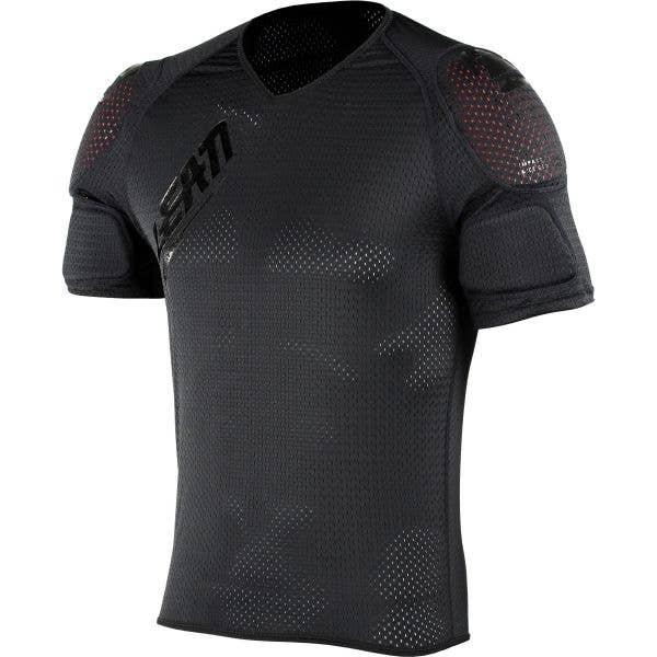 Leatt 3DF AirFit Lite Shoulder Body Protector Tee - Black