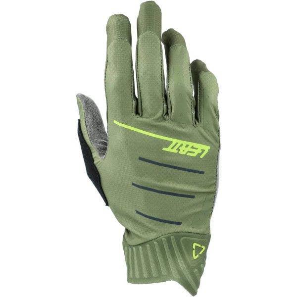 Leatt MTB 2.0 WindBlock Protective Gloves - Cactus