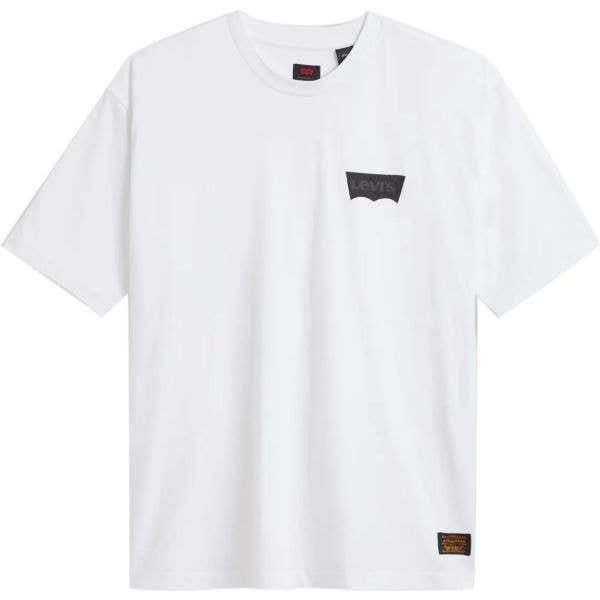 Levi's Skate Graphic Box T Shirt - LSC White Core / Batwing Black