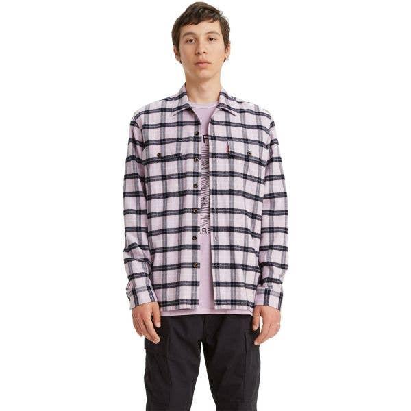 Levi's Work Shirt - Pyrope Navy Blazer