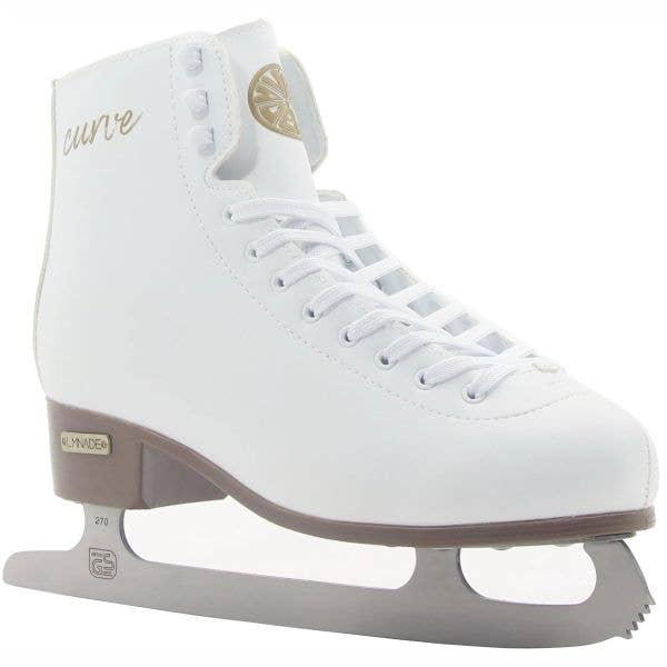 LMNADE Curve Ice Figure Skates - White