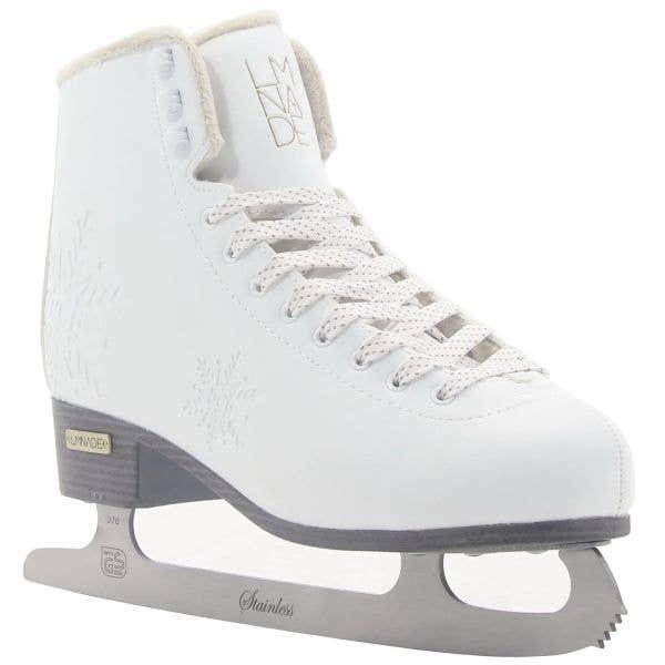 LMNADE Edge Ice Figure Skates - White