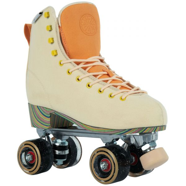 LMNADE Throwback Quad Roller Skates - Sunrise Pastel Yellow