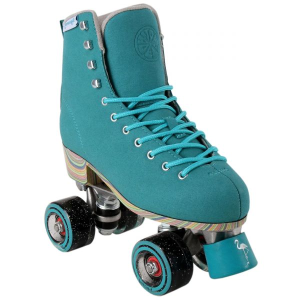 LMNADE Throwback Fixed Toe Stop Quad Roller Skates - Candie