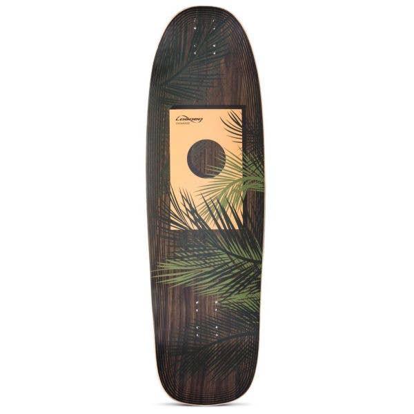 Loaded Omakase Longboard Deck - Palm 33.5''