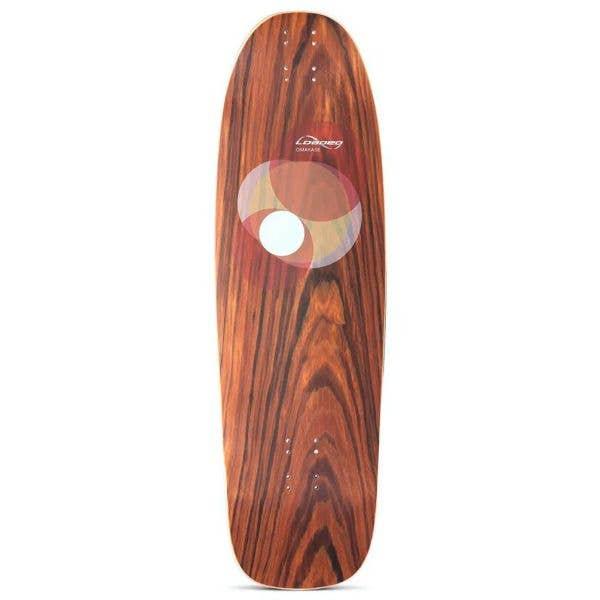 Loaded Omakase Kicktail Longboard Deck - Roe 33.5''
