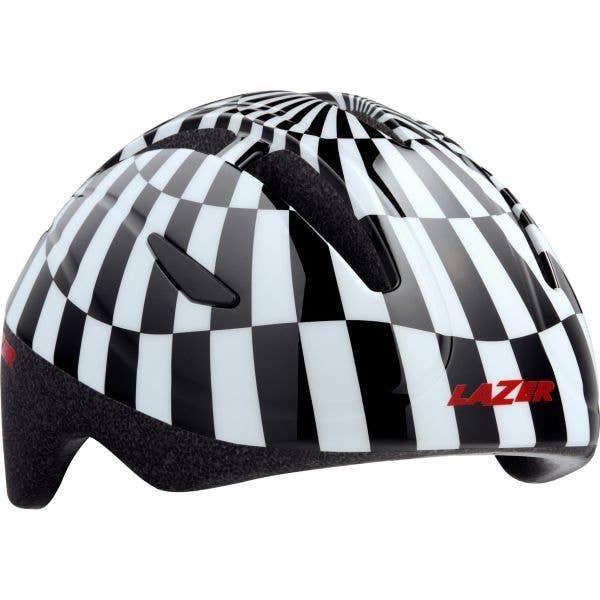 Lazer Bob Kids Helmet - Black/White