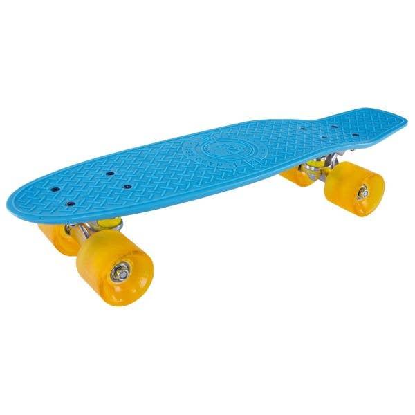 Madd Gear Pro Skins Retro Cruiser - Blue/Yellow