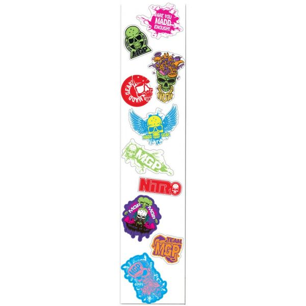 MGP 10 Pack Sticker Sheet - Series 2