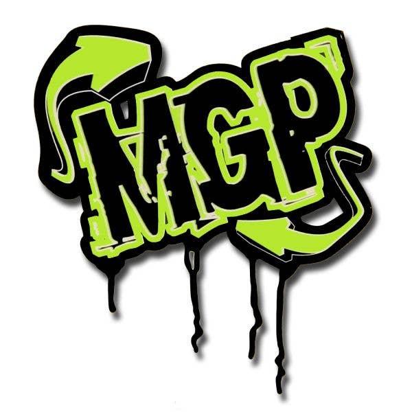 MGP Arrow Sticker - Green