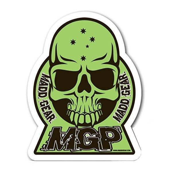 MGP Skull Sticker - Green